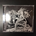 Blood Cult / Enbilulugugal - Blood Cult Vs. Enbilulugugal CD (M-/M-) -black metal-