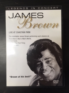 James Brown - Live At Chastain Park DVD (M-/M-) -funk-