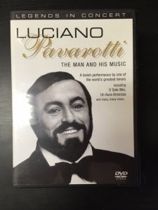 Luciano Pavarotti - The Man And His Music DVD (VG+/M-) -klassinen-