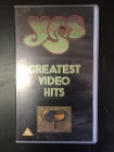 Yes - Greatest Video Hits VHS (M-/M-) -prog rock-