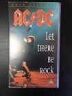 AC/DC - Let There Be Rock VHS (M-/M-) -hard rock-