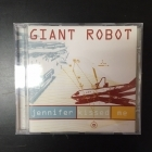 Giant Robot - Jennifer Kissed Me CDS (VG+/M-) -electro-