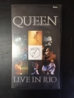 Queen - Live In Rio VHS (M-/M-) -hard rock-