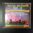 Gino Marinello Synthesizer Section - Digital Melodies Part-2 CD (VG+/VG) -synthpop-
