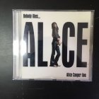 Alice Cooper - Nobody Likes... Alice Cooper Live CD (M-/VG+) -hard rock-