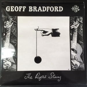 Geoff Bradford - The Right String LP (M-/VG+) -blues-