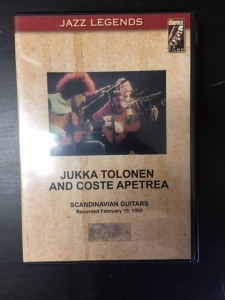 Jukka Tolonen And Coste Apetrea - Scandinavian Guitars DVD (M-/M-) -jazz-rock-