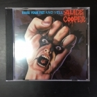 Alice Cooper - Raise Your Fist And Yell CD (M-/M-) -hard rock-