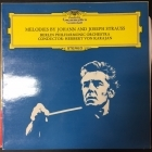 Berlin Philharmonic Orchestra - Melodies By Johann And Joseph Strauss LP (VG+-M-/VG+) -klassinen-