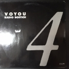Voyou - Radio Bostich 12'' SINGLE (VG+/VG+) -new beat-