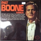 Pat Boone - Pat Boone Sings LP (VG+/VG+) -pop-