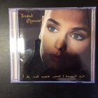 Sinead O'Connor - I Do Not Want What I Haven't Got CD (M-/VG) -folk rock-