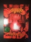 Anthrax - Chile On Hell (limited edition) DVD+2CD (VG+-M-/M-) -thrash metal-