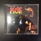 AC/DC - Live (special collector's edition) 2CD (VG/M-) -hard rock-