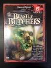 Beastly Butchers (Kill Syndrome / Season In Hell / Todd Sheets' Goblin / The Lunar Pack / The Tenement / Deadly Culture) ) 2DVD (VG-VG+/M-) -kauhu- (R1 NTSC/ei suomenkielistä tekstitystä)