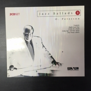 Oscar Peterson - Jazz Ballads 8 2CD (VG+/M-) -jazz-