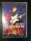 Ritchie Blackmore' Rainbow - Memories In Rock (Live In Germany) DVD (M-/M-) -hard rock- (R0 NTSC)