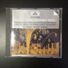Handel - Royal Fireworks Music / Concerto Grosso / Overtures CD (M-/M-) -klassinen-