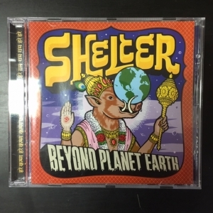 Shelter - Beyond Planet Earth CD (G/VG) -melodic hardcore-