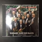 Vintage Jazz Big Band - Live In Denmark CD (VG+/VG+) -jazz-