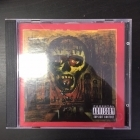 Slayer - Seasons In The Abyss CD (VG+/M-) -thrash metal-