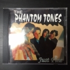 Phantom Tones - Just Fine CDEP (M-/VG+) -power pop-