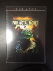 Full Metal Jacket (deluxe edition) DVD (M-/M-) -sota/draama-