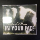 Children Of Bodom - In Your Face CDS (VG+/M-) -melodic death metal-