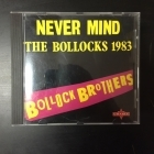 Bollock Brothers - Never Mind The Bollocks 1983 (remastered) CD (M-/M-) -punk rock/new wave-