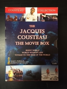 Jacques Cousteau - The Movie Box 3DVD (VG-M-/VG+) -dokumentti-