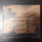 No Shame - White Of Hope Turning Black CD (VG/M-) -punk rock-