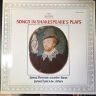 James Bowman & James Tyler - Songs In Shakespeare's Plays LP (VG+-M-/M-) -klassinen-