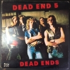 Dead End 5 - Dead Ends (1.painos/1976) LP (VG-VG+/VG) -hard rock-