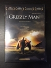 Grizzly Man DVD (VG+/M-) -dokumentti-