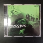 Mando Diao - Never Seen The Light Of Day CD (VG/VG+) -indie rock-