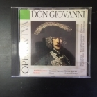 Mozart - Don Giovanni CD (M-/M-) -klassinen-