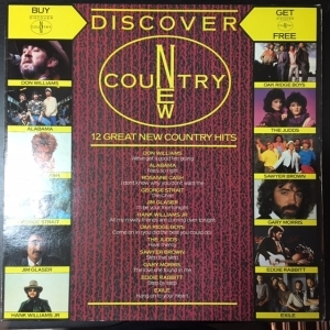 V/A - Discover New Country LP (VG+-M-/M-)