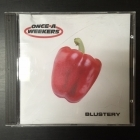 Once A Weekers - Blustery CDS (M-/VG) -hard rock-