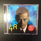 4R - Not For Sale CD (M-/M-) -pop rock-