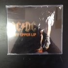 AC/DC - Stiff Upper Lip PROMO CDS (M-/M-) -hard rock-