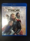 Thor - The Dark World Blu-ray (M-/M-) -toiminta-