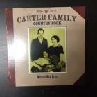 Carter Family - Country Folk (Worried Man Blues) CD (VG+/M-) -country-