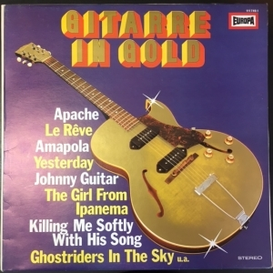 Marc Griffin And The Romantic Guitars - Gitarre In Gold LP (VG+-M-/VG+) -easy listening-