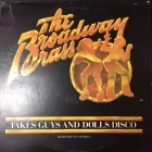Broadway Brass - Takes Guys And Dolls Disco LP (M-/VG+) -disco-