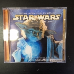 Star Wars Episode II: Attack Of The Clones - Soundtrack CD (VG/VG+) -soundtrack-
