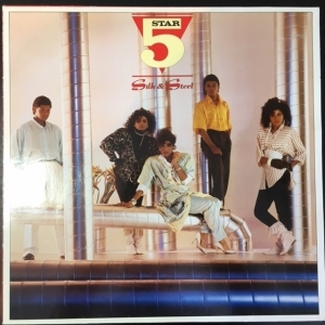 Five Star - Silk & Steel LP (M-/VG+) -pop-