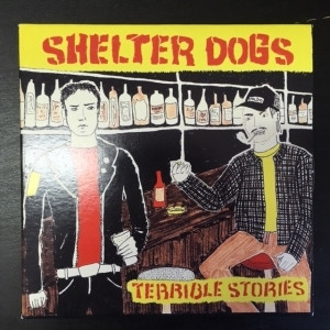 Shelter Dogs - Terrible Stories CDEP (VG+/M-) -punk rock-