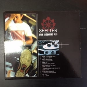 Shelter - When 20 Summers Pass CD (VG+/VG+) -melodic hardcore-