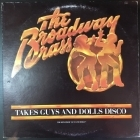 Broadway Brass - Takes Guys And Dolls Disco LP (VG+-M-/VG) -disco-