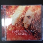 Maija Vilkkumaa - Superpallo CD (VG/M-) -pop rock-
